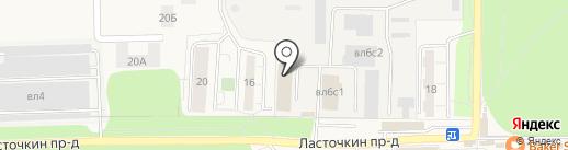 Hastore на карте Балашихи