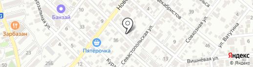 Чуб-Чик на карте Геленджика