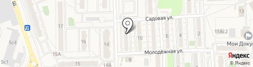 Заря на карте Балашихи
