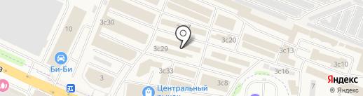 Алькант на карте Жуковского