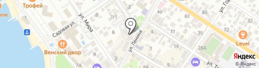 Геленджик-Оптика на карте Геленджика