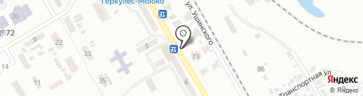Автостоянка на проспекте Кирова на карте Макеевки
