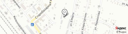 Авторынок на карте Макеевки