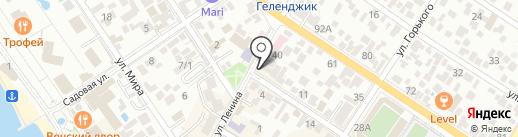 Респект на карте Геленджика