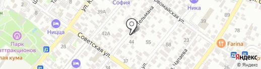 Адвокатский кабинет Иваниди П.К. на карте Геленджика