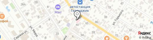 Кубань-Фармация на карте Геленджика