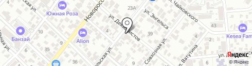 Неделя геленджика на карте Геленджика