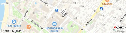 Ювелирная мастерская на Херсонской на карте Геленджика