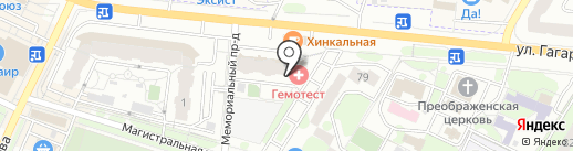 Восток-Сервис на карте Жуковского