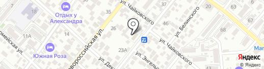 БТИ на карте Геленджика