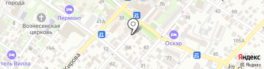 Флагман на карте Геленджика