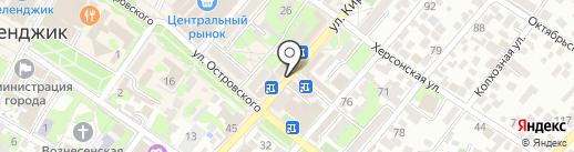 exkursant.ru на карте Геленджика