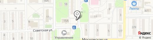 Маслобар на карте Балашихи