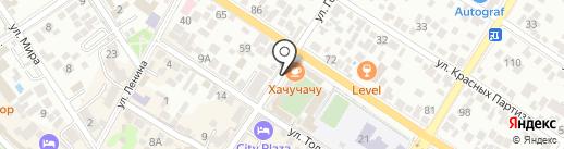 Francesca на карте Геленджика