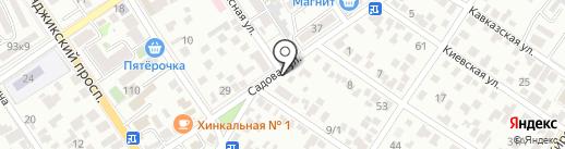 Корсар на карте Геленджика