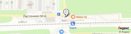 Сетунь на карте Балашихи