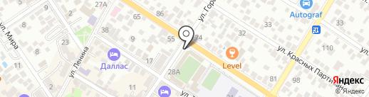 M & K на карте Геленджика