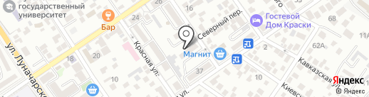 Участковый пункт полиции на карте Геленджика