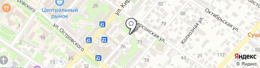 Магазин печатей и штампов на карте Геленджика