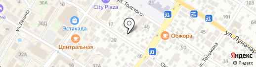Юрконт на карте Геленджика