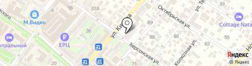 Краснодарский торгово-экономический колледж на карте Геленджика