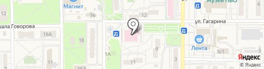 Поликлиника №1 на карте Балашихи