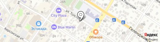 Велоремонт-Геленджик на карте Геленджика