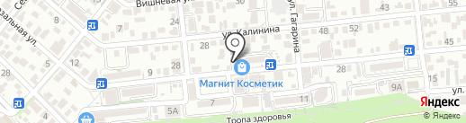 Фабрика рекламы на карте Геленджика