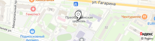 Церковная лавка на карте Жуковского