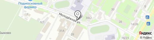 Киоск фастфудной продукции на карте Жуковского
