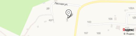 Ильинское участковое лесничество на карте Ильинского