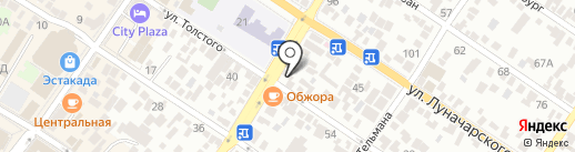 Юлмарт на карте Геленджика