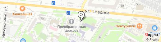 Киоск по продаже религиозных товаров на карте Жуковского