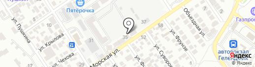 НЕРУД-АО на карте Геленджика