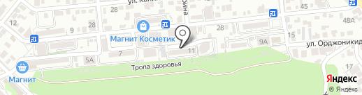 Сосновый бор, ТСЖ на карте Геленджика