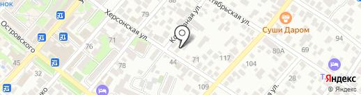 КЛИМАТиТВ.РФ на карте Геленджика