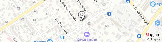 Союз застройщиков Геленджика на карте Геленджика