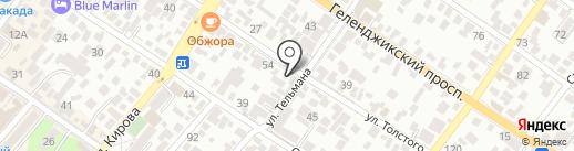 AXEL на карте Геленджика