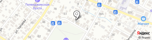 Центр ремонтных услуг на карте Геленджика