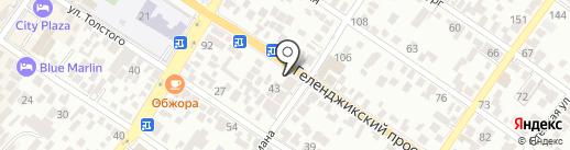 CRAFT на карте Геленджика