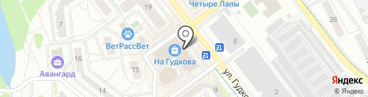 Евросеть на карте Жуковского