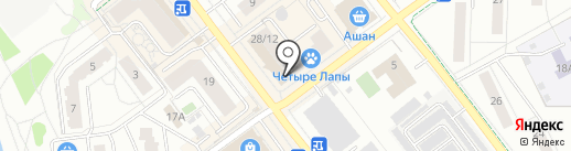 Ярче! на карте Жуковского