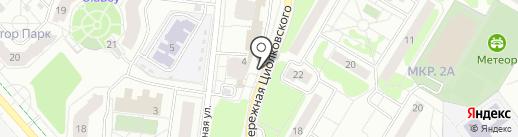 Клеопатра на карте Жуковского