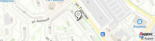 СВ-тур на карте Жуковского