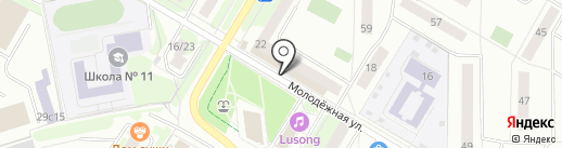Жук на карте Жуковского