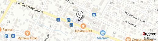 Детский сад №15 на карте Геленджика