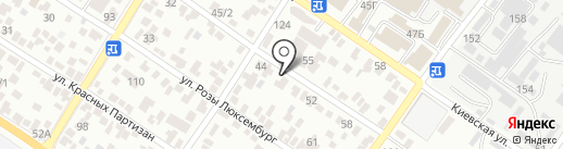 Новоремонт на карте Геленджика