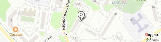 Пушинка на карте Жуковского