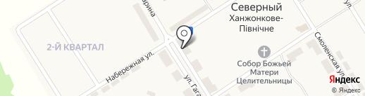 Магазин-склад по продаже овощей и фруктов на карте Ханжёнково-Северного