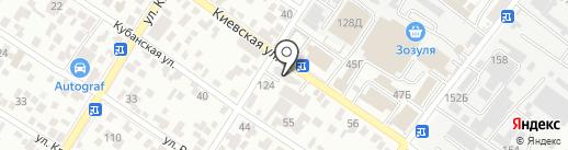 Салон-магазин мебели на карте Геленджика